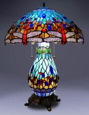 Resin Stained Glass Table Lamps