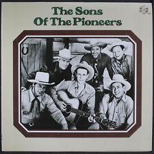 """sons of THE pioneers: the the pioneers JEMF 12"""" LP 33 RPM"""