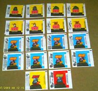 Lot of 18 (10 diff.) 1980-1983 Topps STAR WARS Trading card Wrappers ESB & ROTJ