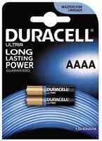 2x Batterie AAAA Duracell 1,5V Alkaline - MX2500 / E96 / LR8D425 - Blister