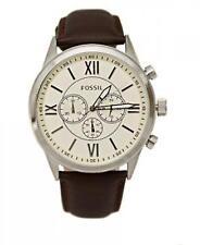 Fossil Herren Uhr BQ1129 Armbanduhr Grant Analog Watch Men Braun Leder-139€