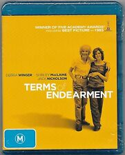 Terms Of Endearment  Blu-Ray New (Shirley MacLaine) Region B Free Post