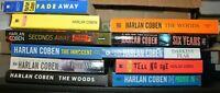 Lot of 5 Harlan Coben Thriller Mass Market Paperback Books MIX RANDOM