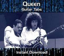QUEEN ROCK GUITAR TAB TABLATURE DOWNLOAD SONG BOOK SOFTWARE TUITION