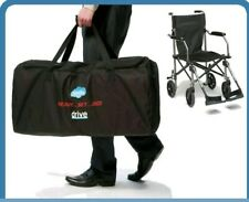 Drive Travelite Aluminium Transport Transit Mobility Aid Fold Chair Wheelchair