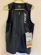 2XU Endurance Aero Men's Tri Singlet Size Medium - Black