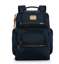 New Tumi Alpha 3 Brief Backpack  Exclusive Colorway Navy $525 Retail