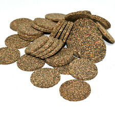 CORK DISCS NEOPRENE BONDED 12mm DIAMETER / 2.4mm THICK - ISOLATION / INSULATION