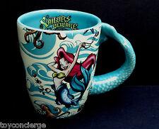 DISNEY PARKS Mug PIRATES OF THE CARIBBEAN Mermaids SAILORS BEWARE Cup 10 oz NEW