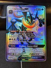 Greninja GX SV56/SV94 Hidden Fates Shiny Vault Rare Pokemon Card NM