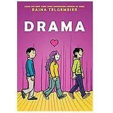 Drama by Raina Telgemeier (2012, Hardcover)