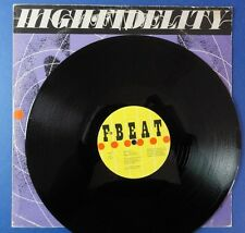 ELVIS COSTELLO & THE ATTRACTIONS HIGH FIDELITY fbeat 80 A1B1 12in 45 EX