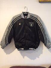 Vintage Oakland Raiders Starter Pro Line Jacket Size L