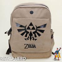 The Legend of Zelda Rucksack Triforce Logo Sehr hochwertig aus Leinen NEU & OVP