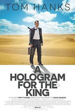 A Hologram for the King Original Movie Promo Poster 13.5 x 20 Tom Hanks