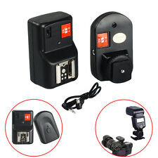 4 Channels Wireless Radio Speedlite Flash Trigger for Canon Nikon PT-04GY DE