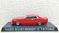 1/64 Aoshima Grachan 2 1970 RA20 TOYOTA CELICA 1600GT RED diecast car model