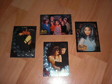BUFFY Saison 1,2 & 3 Chase, Promo Cards RARE + 9er Pocket Pages