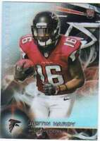 2015 Topps Platinum Rookie Refractor RC #142 Justin Hardy Falcons
