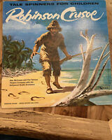 1962 UAC 11015 LP Robinson Crusoe Tale Spinners For Children