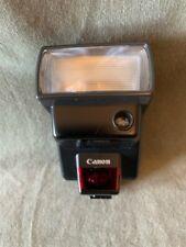 Flash Canon Speedlite 300EZ Shoe montado en excelentes condiciones