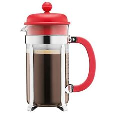 Bodum Caffettiera Coffee Maker 8 Cup  1L 34 Oz Red