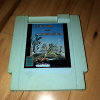 MASTER CHU AND THE DRUNKARD HU Nintendo NES Game BLUE Cartridge RARE Works!