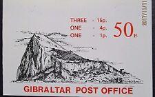 Gibraltar 1981 50p Booklet.
