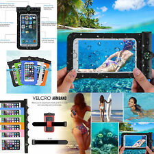 Universal Waterproof Case Underwater Phone Armband Dry Bag Pouch All Smartphones