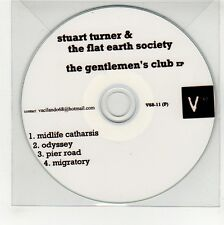 (GG282) Stuart Turner & The Flat Earth Society, The Gentlemen's Club EP - DJ CD