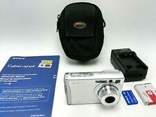 Sony Cyber-shot DSC-W80 7.2MP Digital Camera - Silver