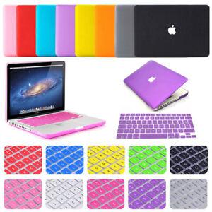 Housse/Coque Mate +AZERTY Clavier protection pr MacBook Pro Air 13 11 15 retina