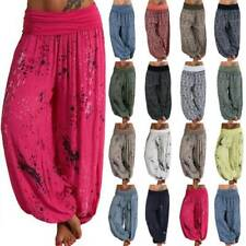 Plus Size Womens Indian Boho Comfy Gypsy Harem Pants Yoga Hareem Hippie Trousers