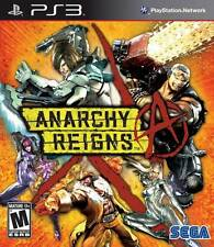 Anarchy Reigns (PlayStation 3, SEGA/PlatinumGames) PS3 Battle Brawl Fighting NEW