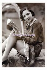 rp00667 - Young woman in stockings - photograph