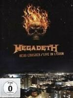 DVD Megadeth ‎– Head Crusher/Live In Lisbon Usa 2011 Sealed