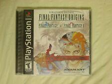 Final Fantasy Origins(see desc) PlayStation Ps1 Cib + registration card Ff 1 2