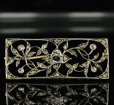 14 Carat Rose Gold Brooch/Pin Victorian Fine Jewellery