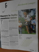 G-Gazzetta dello Sport.Bernhard Langer,Paolo Maurensig,Diana Luna,Nigel Mansell