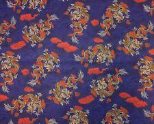 1986 Quilt Floral Bird of Paradise Hoffman California Fabric Large Print BTHY