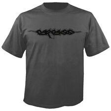 Carcass 'Logo' Camiseta Carbón-Nuevo huelen de putrefacción Heartwork Necroticism