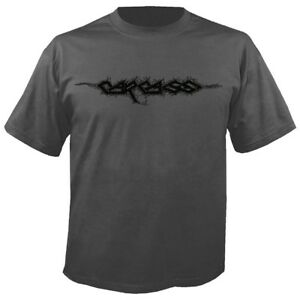 Carcass 'Logo' Charcoal T shirt - NEW reek of putrefaction heartwork necroticism