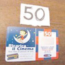ricarica TIM Il Cinema Betty Boop validità sett 09 2001