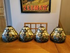 Dale Tiffany Antique Roadshow Collection Stained Glass Pendant Light Shades (4)