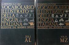 DEVOTO OLI VOCABOLARIO ILLUSTRATO DELLA LINGUA ITALIANA LE MONNIER 1967