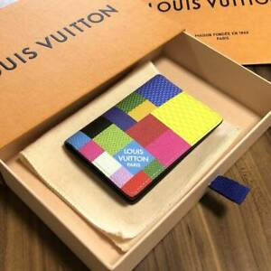 Rare Unused LOUIS VUITTON Multicolor Pocket Organizer