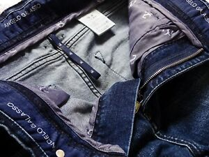 Angelo Galasso Gorgeous Navy Blue Jeans BNWT
