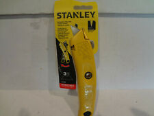 Stanley Retractable Utility Knife 3 Blades #10-989