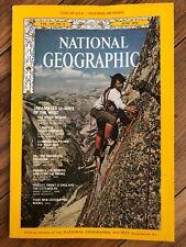 National Geographic June 1974 Nevada Yosemite Oil Burma Leg Rower With Map