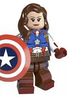 Marvel Avengers Captain America First Avenger Minifigure Fits Lego US SELLER